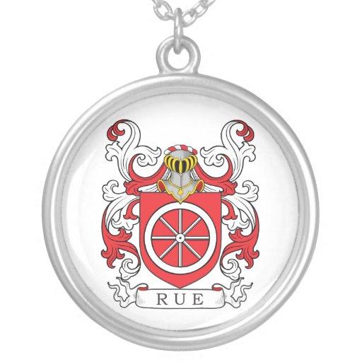 Escudo de la familia de ruda (francés) grimpola