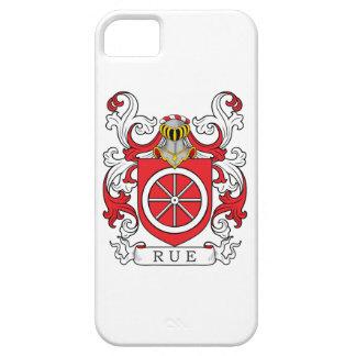 Escudo de la familia de ruda (francés) iPhone 5 carcasa
