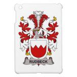 Escudo de la familia de Rudbeck iPad Mini Protectores