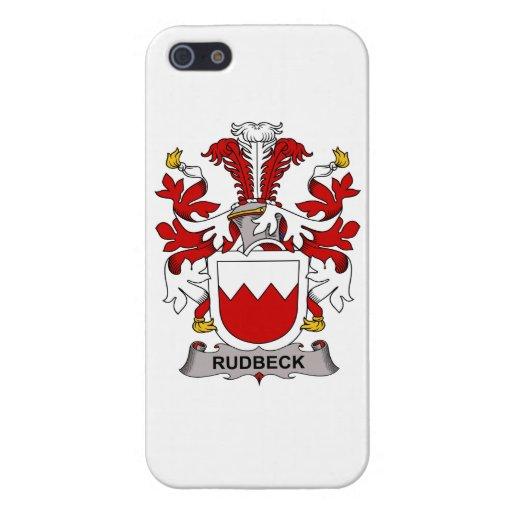 Escudo de la familia de Rudbeck iPhone 5 Carcasa