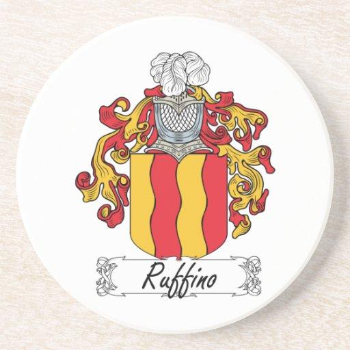 Escudo de la familia de Ruffino Posavasos Cerveza