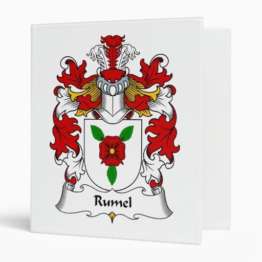 Escudo de la familia de Rumel