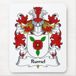 Escudo de la familia de Rumel Alfombrilla De Ratón