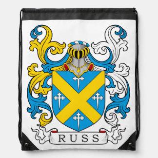 Escudo de la familia de Russ Mochilas