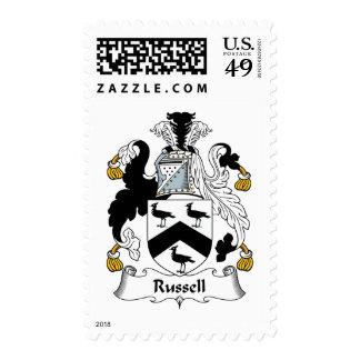 Escudo de la familia de Russell