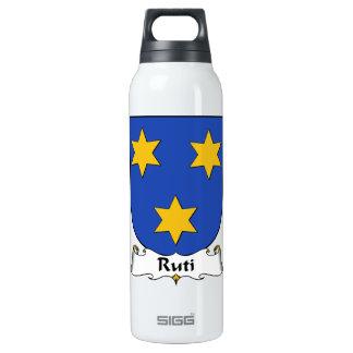 Escudo de la familia de Ruti Botella Isotérmica De Agua
