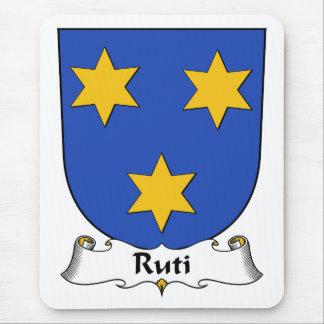 Escudo de la familia de Ruti Alfombrilla De Raton