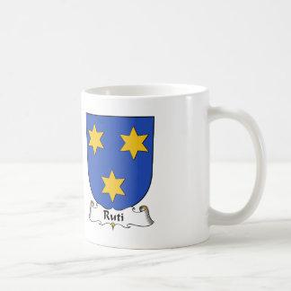 Escudo de la familia de Ruti Taza De Café