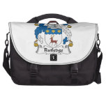 Escudo de la familia de Rutledge Bolsas De Ordenador