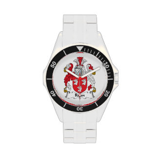 Escudo de la familia de Ryan Reloj De Mano