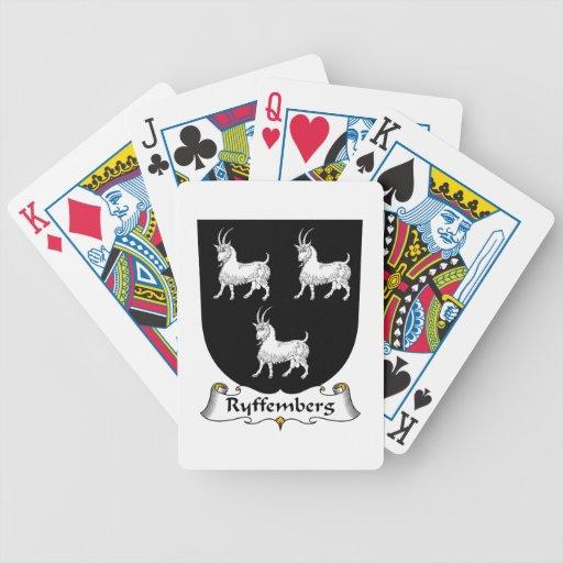 Escudo de la familia de Ryffemberg Barajas De Cartas