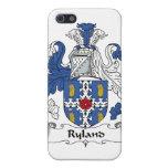 Escudo de la familia de Ryland iPhone 5 Carcasas