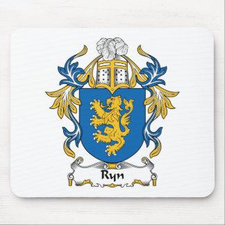 Escudo de la familia de Ryn Tapetes De Ratón
