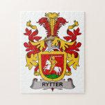 Escudo de la familia de Rytter Rompecabeza