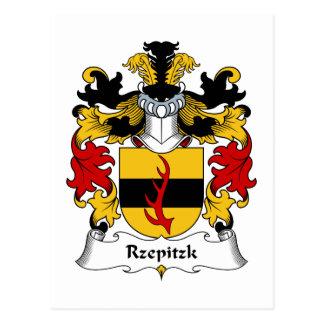 Escudo de la familia de Rzepitzk Postal