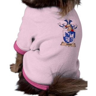 Escudo de la familia de Saar Camiseta De Perrito