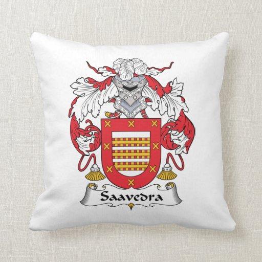 Escudo de la familia de Saavedra Almohadas