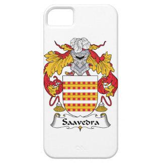 Escudo de la familia de Saavedra iPhone 5 Protector