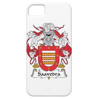 Escudo de la familia de Saavedra iPhone 5 Case-Mate Protector