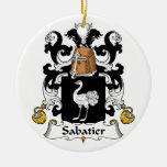 Escudo de la familia de Sabatier Adorno Para Reyes