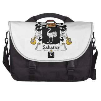 Escudo de la familia de Sabatier Bolsas De Portátil