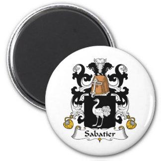 Escudo de la familia de Sabatier Imán Redondo 5 Cm