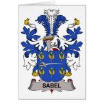 Escudo de la familia de Sabel Felicitacion
