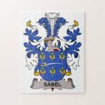 Escudo de la familia de Sabel Rompecabeza