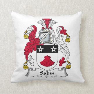 Escudo de la familia de Sabin Almohada