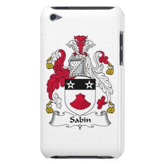 Escudo de la familia de Sabin Case-Mate iPod Touch Cobertura
