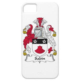 Escudo de la familia de Sabin iPhone 5 Case-Mate Protector