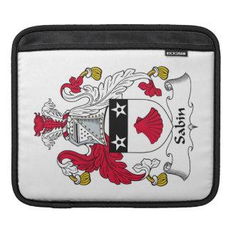 Escudo de la familia de Sabin Fundas Para iPads