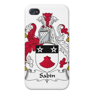 Escudo de la familia de Sabin iPhone 4/4S Carcasas
