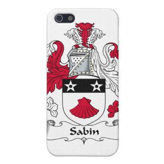 Escudo de la familia de Sabin iPhone 5 Protector