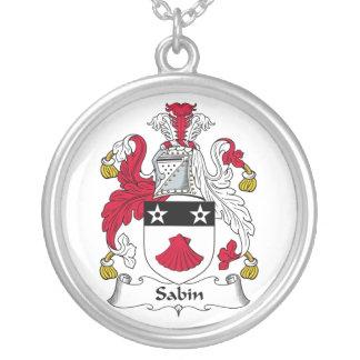 Escudo de la familia de Sabin Joyerias