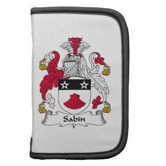Escudo de la familia de Sabin Organizador