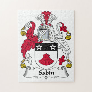 Escudo de la familia de Sabin Puzzles