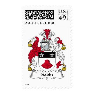 Escudo de la familia de Sabin Sellos