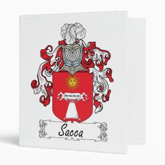 Escudo de la familia de Sacca