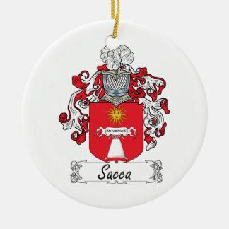 Escudo de la familia de Sacca Adorno