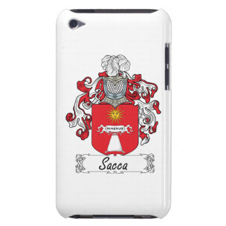 Escudo de la familia de Sacca Case-Mate iPod Touch Funda