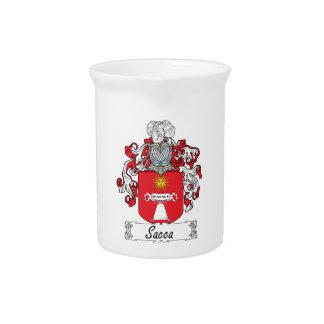 Escudo de la familia de Sacca Jarra