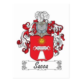 Escudo de la familia de Sacca Postal