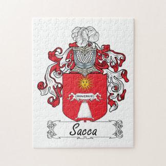Escudo de la familia de Sacca Rompecabeza