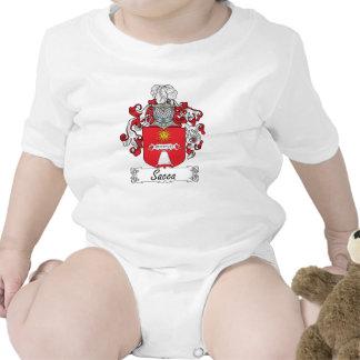 Escudo de la familia de Sacca Traje De Bebé