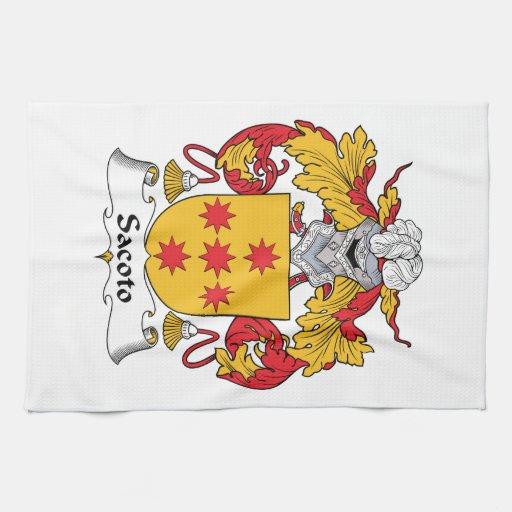 Escudo de la familia de Sacoto Toalla