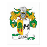 Escudo de la familia de Sáenz Postal