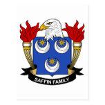 Escudo de la familia de Saffin Postal