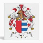 Escudo de la familia de Sahr