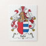 Escudo de la familia de Sahr Rompecabeza